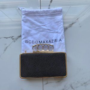 BCBGMAXAZRIA| Clutch | brass | Knuckles